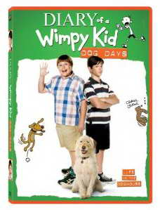 Diary of a Wimpy Kid Dog Days on DVD