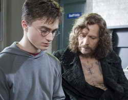 Gary Oldman and Daniel Radcliffe in Harry Potter and the Order of the Phoenix franchise