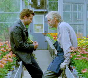 Jeremy Irons and Bradley Cooper in The Words movie