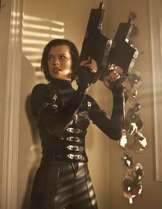 Milla Jovovich in Resident Evil Retribution, a movie review