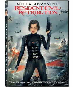 Resident Evil Retribution on DVD