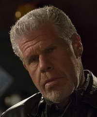 Ron Perlman in Sons of Anarchy as Clay