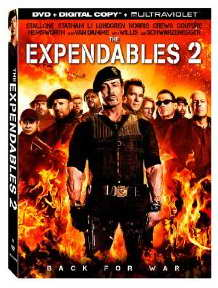 The Expendables 2 on DVD