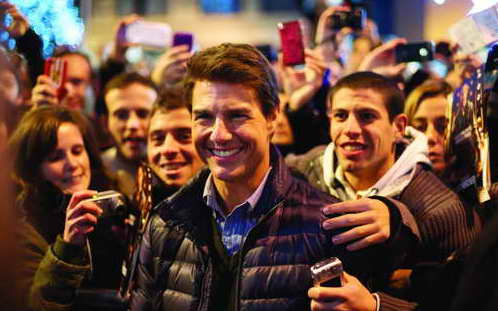 Tom Cruise at Madrid Spain Jack Reacher Premiere 101