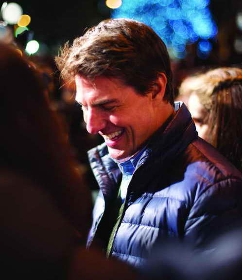 Tom Cruise at Madrid Spain Jack Reacher Premiere 102