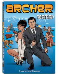 Archer Season Three on DVD