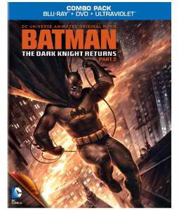 Batman The Dark KNight Returns part 2 on Blu-ray