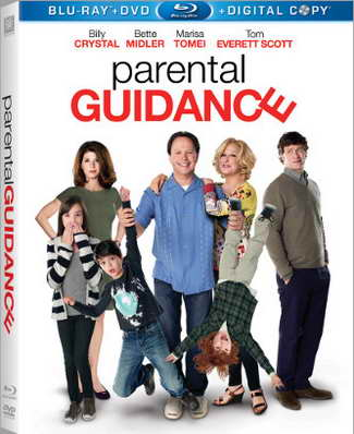Billy Crystal in 'Parental Guidance' on Blu-ray