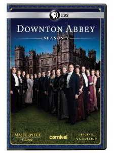Downton Abbey Season 3 on DVD