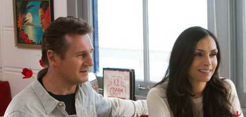 Famke Janssen and Liam Neeson in Taken 2