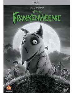 Frankenweenie on DVD