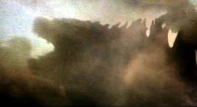 Godzilla 2014 tease movie frame