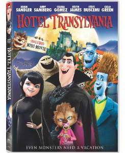 Hotel Transylvania on DVD