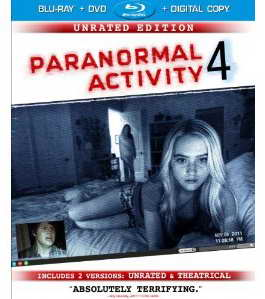 Paranormal Activity 4 on Blu-ray
