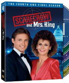 Scarecrow and Mrs King Complete Fourth Season on dvd