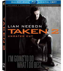 Taken 2 on Blu-ray