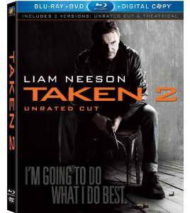 Taken 2 on Blu-ray