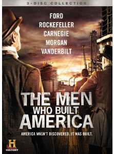 The Men Who Built America on dvd