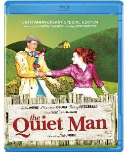 The Quiet Man on blu-ray