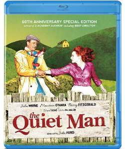 The Quiet Man on blu-ray