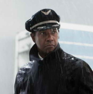 Denzel Washington in 'Flight,' a movie review from Brusimm