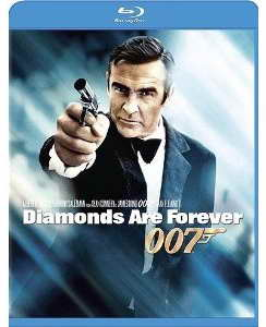 Diamonds are Forever on blu-ray