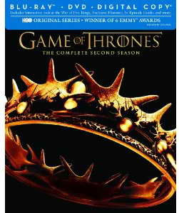 'Game of Thrones' season 2 on Blu-ray DVD