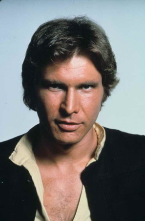 Harrison Ford as Han Solo in 'Star Wars'
