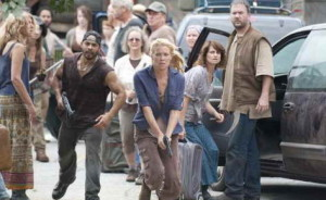 Laurie Holden in The Walking Dead, TV ratings record
