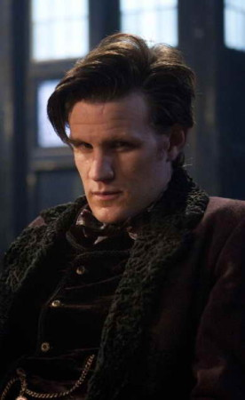Matt Smith in 'Doctor Who,' series 7 split