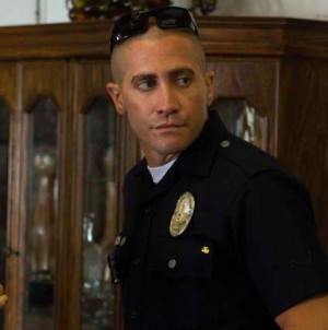 Production Still of Jake Gyllenhaal in 'End of Watch'