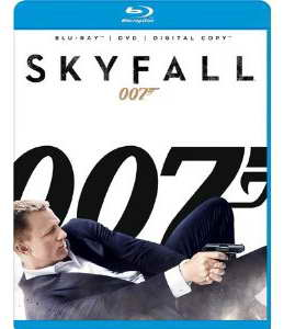 """SKYFALL"" on Blu-ray"
