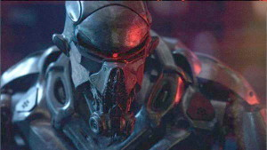 Still of an Old Cylon in 'Battlestar Glactica Blood and Chrome