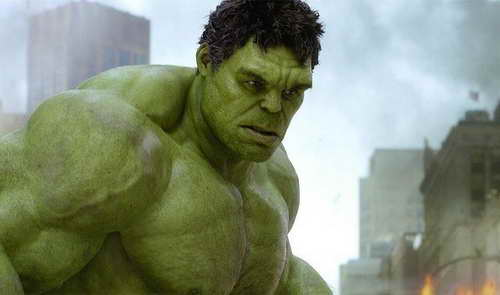 production still of The Hulk fr The Avengers - Hulk Smash