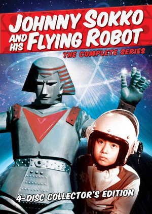 """""""Johnny Sokko and His Flying Robot"""" The Complete Series on DVD"""