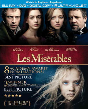 """Les Misérables"" on blu-ray"