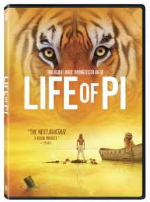 """Life of Pi"" dvd"