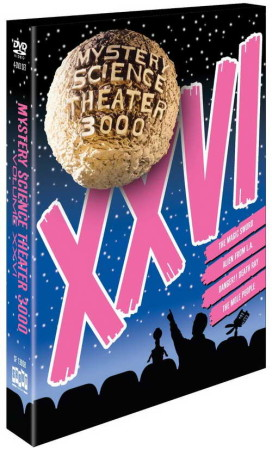Mystery Science Theater 3000 XXVI on DVD