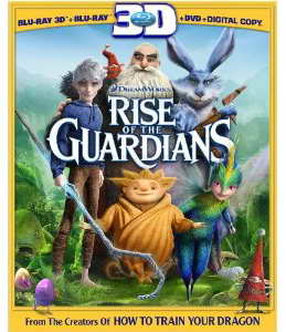 """Rise of the Guardians"" 3d blu-ray"