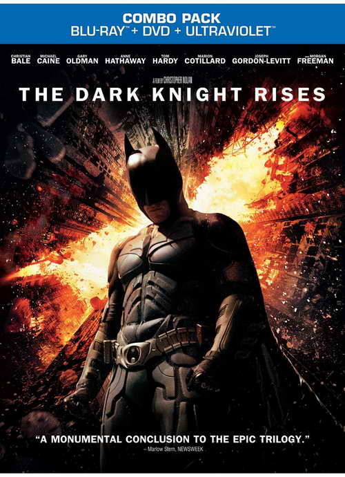 """The Dark Knight Rises"" blu-ray"