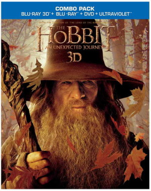 """The Hobbit An Unexpected Journey"" on blu-ray"