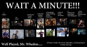 Well Played Mr Whedon