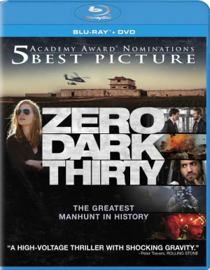 """Zero Dark Thirty"" on blu-ray"