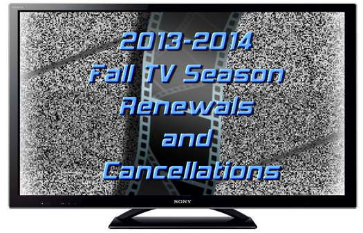 2013-2014 TV season renewals and cancellations