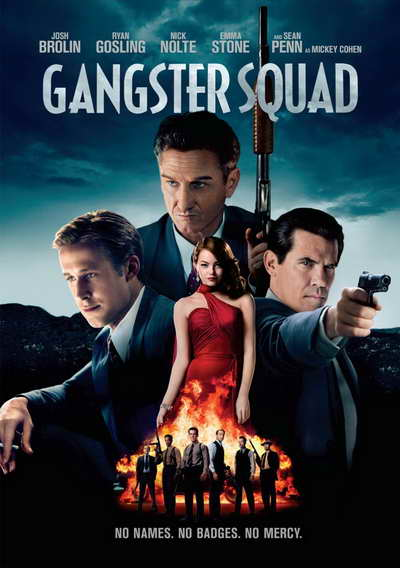 'Gangster Squad' on DVD