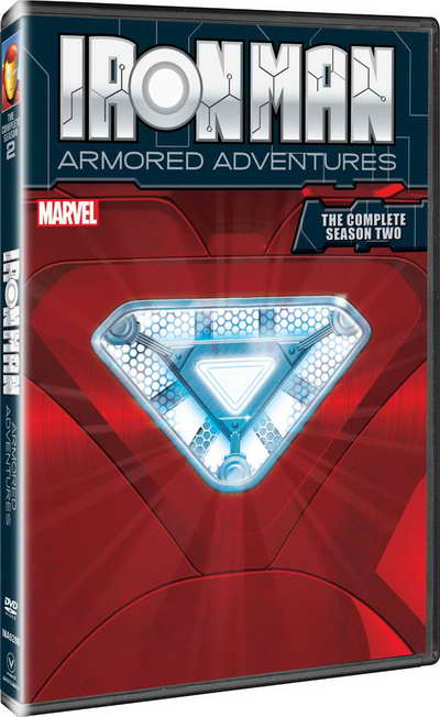 Iron Man Armored Adventures, Complete Season 2 on dvd