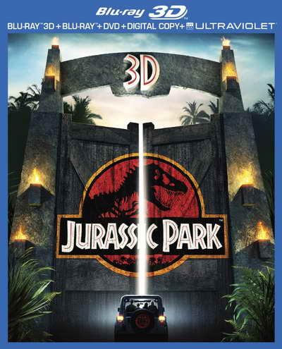 Jurassic Park 3D blu-ray