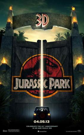 Jurassic Park 3D movie