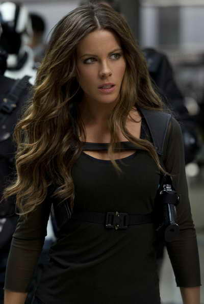 Kate Beckinsale in Total Recall, a review