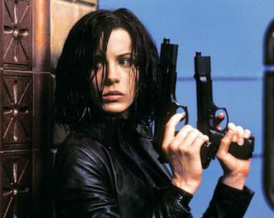 Kate Beckinsale in Underworld movie